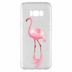 Чохол для Samsung S8+ Фламинго