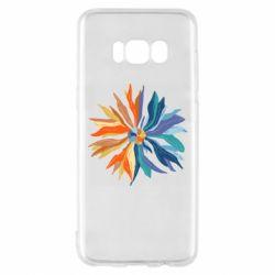 Чохол для Samsung S8 Flower coat of arms of Ukraine