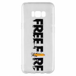 Чехол для Samsung S8+ Free Fire spray