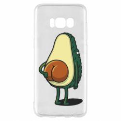 Чохол для Samsung S8 Funny avocado