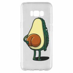 Чохол для Samsung S8+ Funny avocado