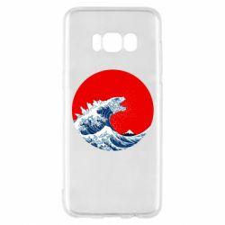 Чохол для Samsung S8 Godzilla Wave