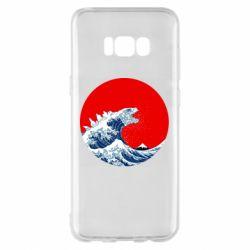 Чохол для Samsung S8+ Godzilla Wave