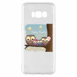 Чехол для Samsung S8 Happy family