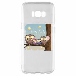 Чехол для Samsung S8+ Happy family