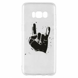 Чехол для Samsung S8 HEAVY METAL ROCK