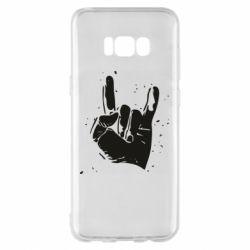 Чехол для Samsung S8+ HEAVY METAL ROCK