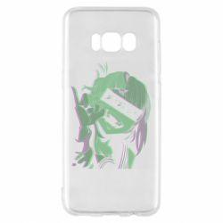 Чохол для Samsung S8 Himiko Toga glitch