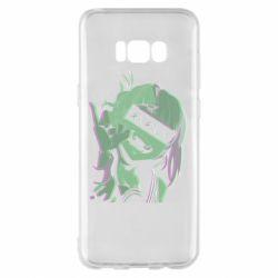 Чохол для Samsung S8+ Himiko Toga glitch