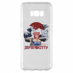 Чохол для Samsung S8+ Japan Kitty
