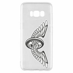 Чохол для Samsung S8 Колесо та крила