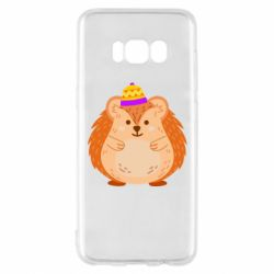 Чохол для Samsung S8 Little hedgehog in a hat