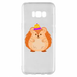 Чохол для Samsung S8+ Little hedgehog in a hat