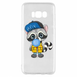 Чехол для Samsung S8 Little raccoon