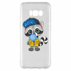 Чехол для Samsung S8+ Little raccoon