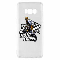Чехол для Samsung S8 Motocross