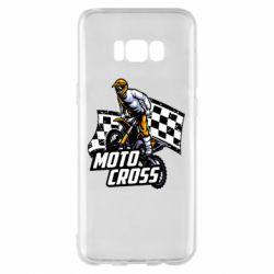 Чехол для Samsung S8+ Motocross