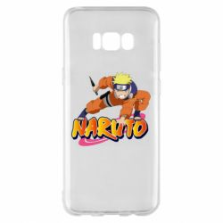 Чохол для Samsung S8+ Naruto with logo