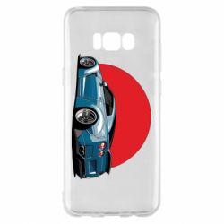 Чехол для Samsung S8+ Nissan GR-R Japan