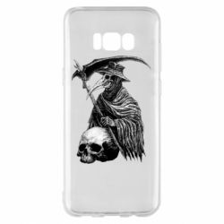 Чехол для Samsung S8+ Plague Doctor graphic arts