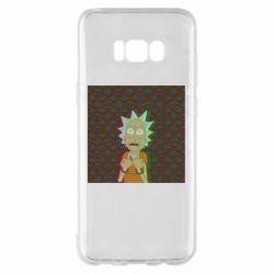 Чехол для Samsung S8+ Rick Fck Hologram
