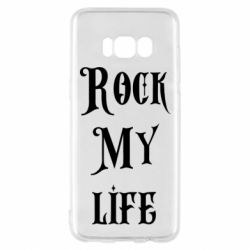 Чехол для Samsung S8 Rock my life