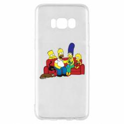 Чехол для Samsung S8 Simpsons At Home