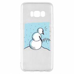 Чохол для Samsung S8 Snowman. It's Cold!