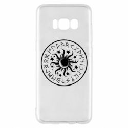 Чохол для Samsung S8 Sun in runes
