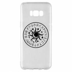Чохол для Samsung S8+ Sun in runes