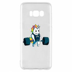 Чохол для Samsung S8 The unicorn is rocking