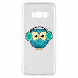 Чехол для Samsung S8 Winter owl