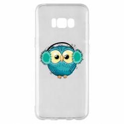 Чехол для Samsung S8+ Winter owl