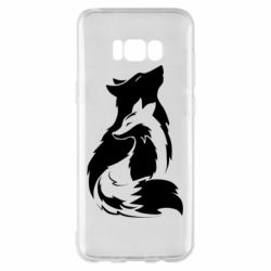 Чехол для Samsung S8+ Wolf And Fox