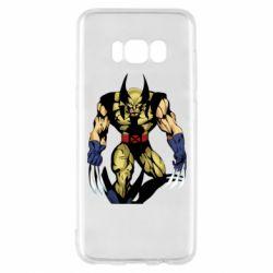 Чохол для Samsung S8 Wolverine comics