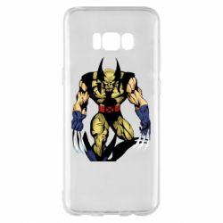 Чохол для Samsung S8+ Wolverine comics