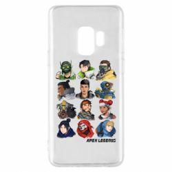 Чохол для Samsung S9 Apex legends heroes