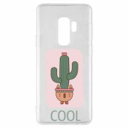 Чехол для Samsung S9+ Cactus art