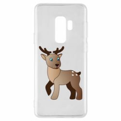 Чехол для Samsung S9+ Cartoon deer