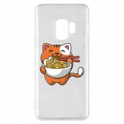 Чохол для Samsung S9 Cat and Ramen
