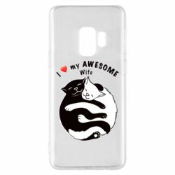 Чехол для Samsung S9 Cats with a smile