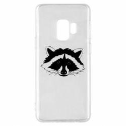 Чохол для Samsung S9 Cute raccoon face