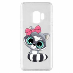 Чехол для Samsung S9 Cute raccoon