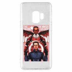 Чохол для Samsung S9 Falcon and the Winter Soldier Art