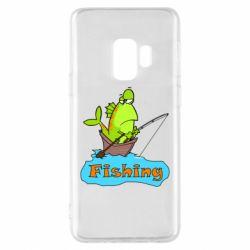 Чехол для Samsung S9 Fish Fishing