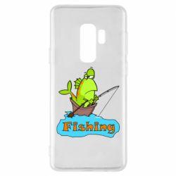 Чехол для Samsung S9+ Fish Fishing