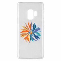 Чохол для Samsung S9 Flower coat of arms of Ukraine