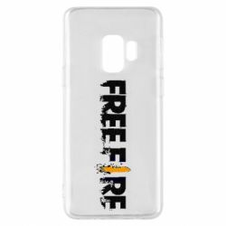 Чехол для Samsung S9 Free Fire spray