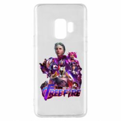 Чехол для Samsung S9 Garena free avengers