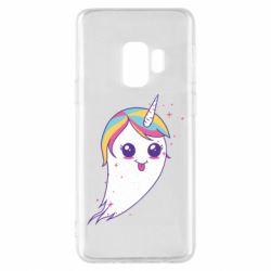 Чохол для Samsung S9 Ghost Unicorn
